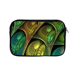 Psytrance Abstract Colored Pattern Feather Apple Macbook Pro 13  Zipper Case by BangZart