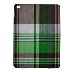 Plaid Fabric Texture Brown And Green Ipad Air 2 Hardshell Cases by BangZart