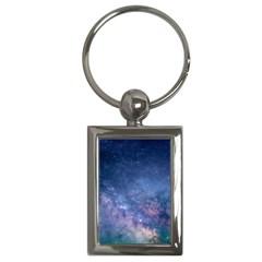 Galaxy Nebula Astro Stars Space Key Chains (rectangle)  by paulaoliveiradesign