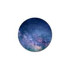 Galaxy Nebula Astro Stars Space Golf Ball Marker (10 Pack) by paulaoliveiradesign