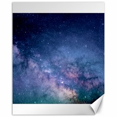 Galaxy Nebula Astro Stars Space Canvas 16  X 20   by paulaoliveiradesign