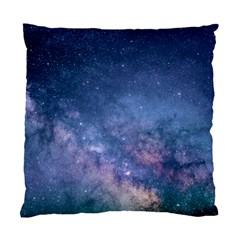 Galaxy Nebula Astro Stars Space Standard Cushion Case (one Side) by paulaoliveiradesign