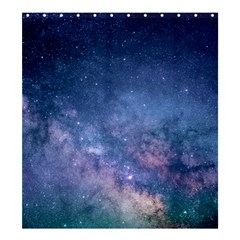 Galaxy Nebula Astro Stars Space Shower Curtain 66  X 72  (large)  by paulaoliveiradesign