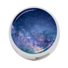 Galaxy Nebula Astro Stars Space 4 Port Usb Hub (two Sides)  by paulaoliveiradesign