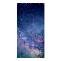 Galaxy Nebula Astro Stars Space Shower Curtain 36  X 72  (stall)  by paulaoliveiradesign