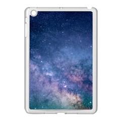 Galaxy Nebula Astro Stars Space Apple Ipad Mini Case (white) by paulaoliveiradesign