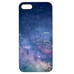Galaxy Nebula Astro Stars Space Apple Iphone 5 Hardshell Case With Stand by paulaoliveiradesign