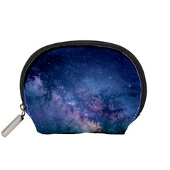 Galaxy Nebula Astro Stars Space Accessory Pouches (small)  by paulaoliveiradesign
