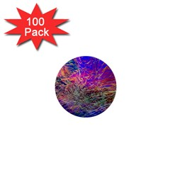 Poetic Cosmos Of The Breath 1  Mini Buttons (100 Pack)