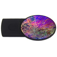 Poetic Cosmos Of The Breath Usb Flash Drive Oval (2 Gb)