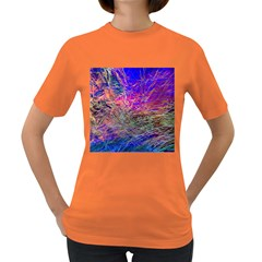 Poetic Cosmos Of The Breath Women s Dark T Shirt