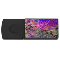 Poetic Cosmos Of The Breath Rectangular Usb Flash Drive by BangZart