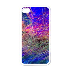Poetic Cosmos Of The Breath Apple Iphone 4 Case (white)