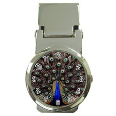 Peacock Money Clip Watches by BangZart