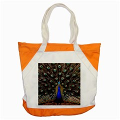 Peacock Accent Tote Bag by BangZart