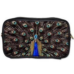 Peacock Toiletries Bags 2 Side