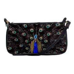 Peacock Shoulder Clutch Bags by BangZart