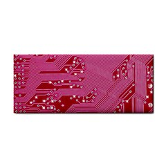 Pink Circuit Pattern Cosmetic Storage Cases