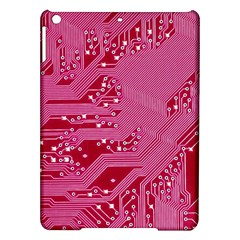 Pink Circuit Pattern Ipad Air Hardshell Cases