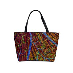 Neurobiology Shoulder Handbags by BangZart