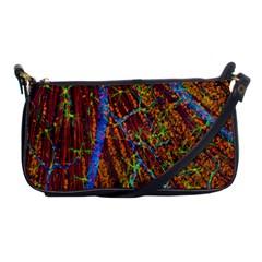 Neurobiology Shoulder Clutch Bags by BangZart