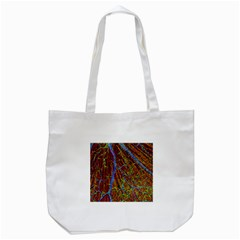 Neurobiology Tote Bag (white) by BangZart