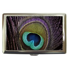 Peacock Feather Cigarette Money Cases by BangZart