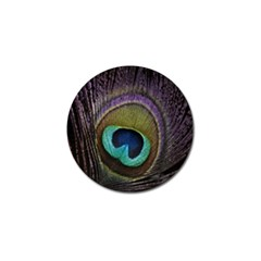 Peacock Feather Golf Ball Marker by BangZart