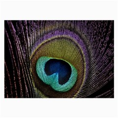 Peacock Feather Large Glasses Cloth