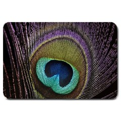 Peacock Feather Large Doormat