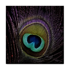 Peacock Feather Face Towel