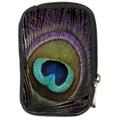 Peacock Feather Compact Camera Cases by BangZart