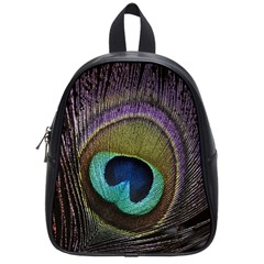 Peacock Feather School Bags (small)  by BangZart