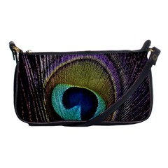Peacock Feather Shoulder Clutch Bags by BangZart