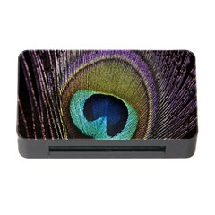 Peacock Feather Memory Card Reader With Cf by BangZart