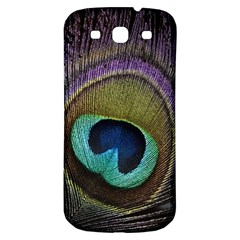 Peacock Feather Samsung Galaxy S3 S Iii Classic Hardshell Back Case