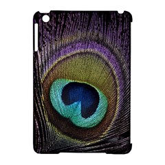 Peacock Feather Apple Ipad Mini Hardshell Case (compatible With Smart Cover) by BangZart