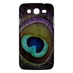 Peacock Feather Samsung Galaxy Mega 5 8 I9152 Hardshell Case  by BangZart