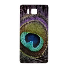 Peacock Feather Samsung Galaxy Alpha Hardshell Back Case