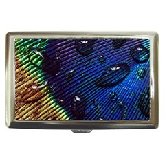 Peacock Feather Retina Mac Cigarette Money Cases by BangZart