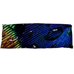 Peacock Feather Retina Mac Body Pillow Case Dakimakura (two Sides)