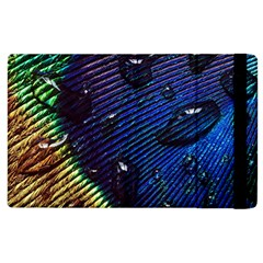 Peacock Feather Retina Mac Apple Ipad 2 Flip Case by BangZart