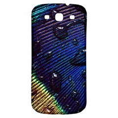 Peacock Feather Retina Mac Samsung Galaxy S3 S Iii Classic Hardshell Back Case