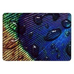 Peacock Feather Retina Mac Samsung Galaxy Tab 8 9  P7300 Flip Case by BangZart