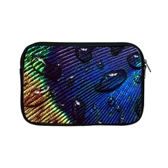 Peacock Feather Retina Mac Apple Ipad Mini Zipper Cases by BangZart