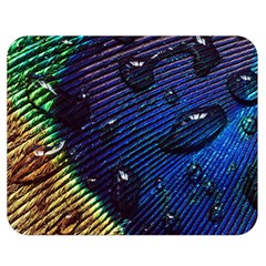 Peacock Feather Retina Mac Double Sided Flano Blanket (medium)  by BangZart
