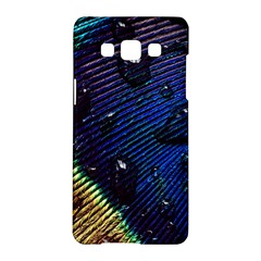 Peacock Feather Retina Mac Samsung Galaxy A5 Hardshell Case