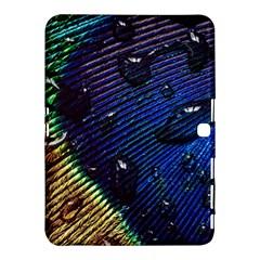 Peacock Feather Retina Mac Samsung Galaxy Tab 4 (10 1 ) Hardshell Case