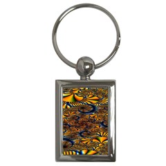 Pattern Bright Key Chains (rectangle)