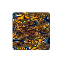 Pattern Bright Square Magnet